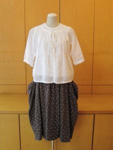 tricot:スカート ¥35700