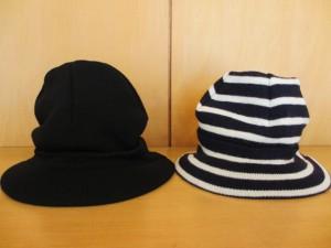 コムコム : 帽子  ¥15120 (黒)  /  ¥12285 (ボーダー)