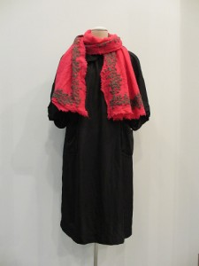 tricot : ストール ¥16800