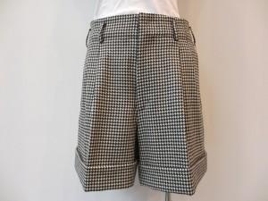 コムコム : パンツ ¥29400 (千鳥格子柄)