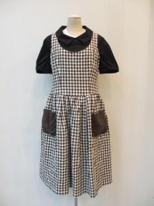 コムコム : ジャンバースカート ¥63000