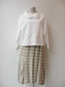 コムコム : スカート(生成×生成) ¥33600