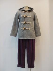 tricot : ジャケット ¥47250 (ミディアムグレー)
