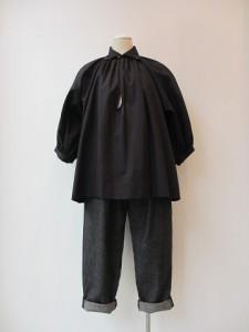 tricot : パンツ ¥30450 (黒)