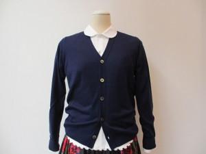 tricot : ニット ¥42000 (紺)