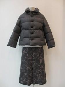 tricot : ジャケット ¥84240 (TOPグレー)