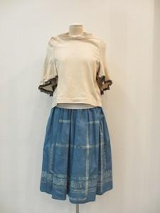 tricot : スカート¥39960 (ブルー )