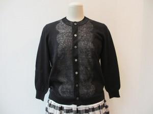 tricot : ニット ¥50760  (黒×黒)
