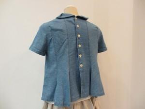 tricot : Tシャツ ¥44280 (濃インディゴ )