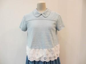 tricot : Tシャツ ¥44280 (薄インディゴ )