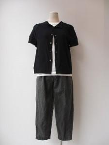 tricot : パンツ ¥35640 (黒)