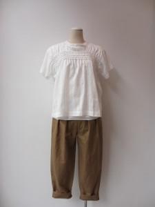 tricot : ブラウス ¥39960