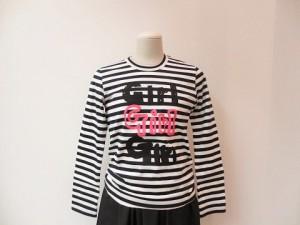 Girl : Tシャツ ¥12960