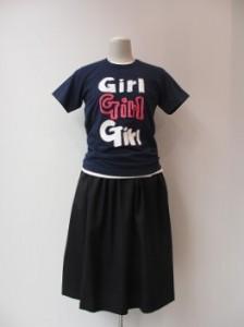 Girl : Tシャツ ¥9720