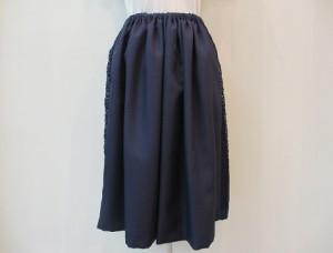tricot : スカート ¥27000 (紺)