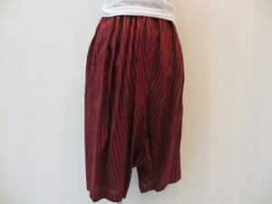 コムコム : パンツ ¥43200 (エンジ)