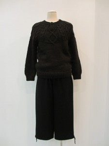 tricot : ニット ¥34560 (黒)