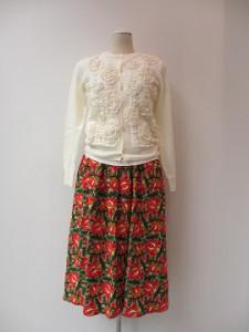 コムコム : スカート ¥44280 (B柄)