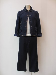 tricot : パンツ ¥30240 (紺)