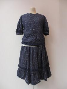 tricot : スカート ¥57240 (ネイビー)