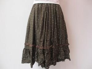 tricot : スカート ¥57240 (カーキ)