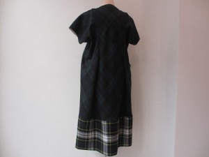 tricot : ワンピース ¥61560 (緑/紺×緑/白)