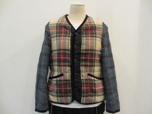 tricot : ジャケット ¥83160 (オフ白 / 赤系)