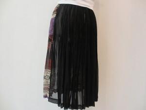 tricot : スカート ¥59400 (B柄×黒)