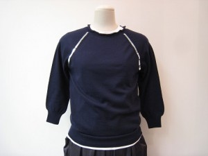 tricot : ニット ¥49680 (紺)
