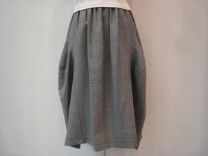コムコム : スカート ¥43200 (グレンチェック)
