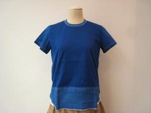 tricot : Tシャツ ¥23760 (ブルー)