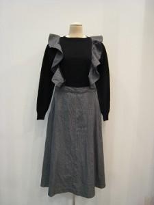tricot : ジャンパースカート ¥66000