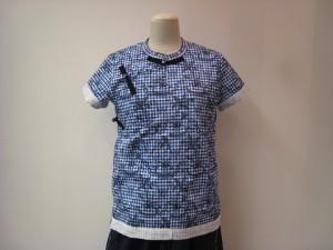 tricot : Tシャツ ¥39600 (ブルー系)